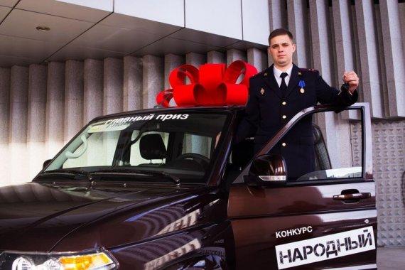 Photo of Ульяновский автозавод подарил УАЗ лучшему участковому России. Он из Ивановской области