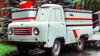 Photo of УАЗ вспомнил уникальную «Буханку» с рулём позади кузова