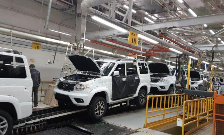 Photo of УАЗ в 2019 году сохранил производство на прежнем уровне