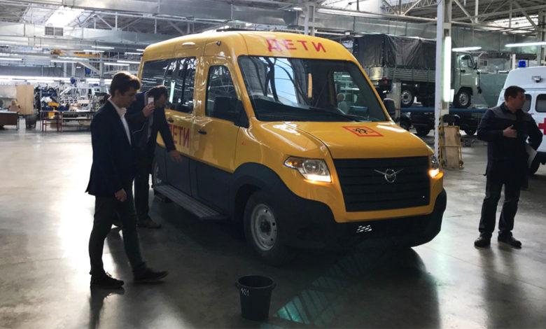 Photo of В соцсетях появились первые фотографии нового микроавтобуса «УАЗ»
